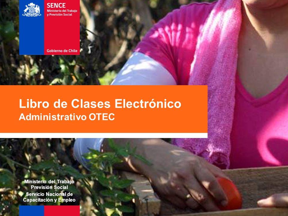 Libro de Clases Electrónico Administrativo OTEC