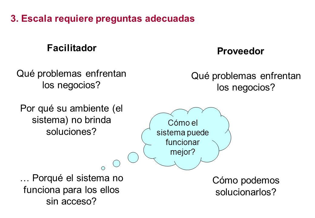Facilitador Facilitator Proveedor Provider