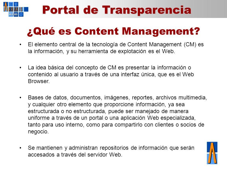 ¿Qué es Content Management