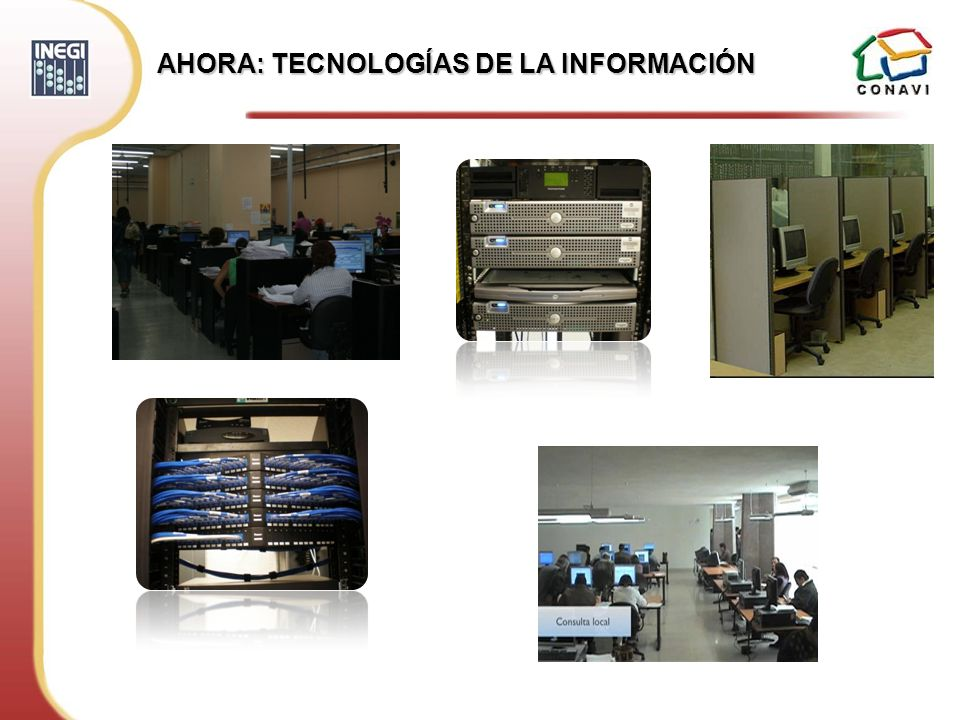 AHORA: TECNOLOGÍAS DE LA INFORMACIÓN