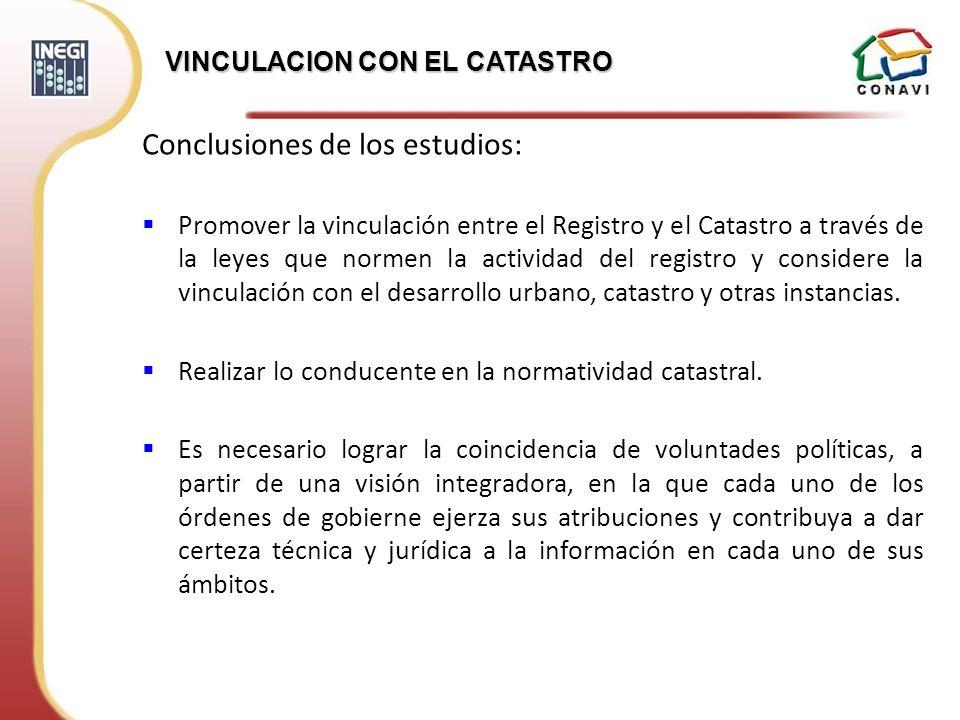 Conclusiones de los estudios: