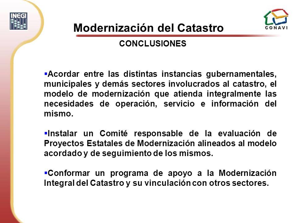 Modernización del Catastro