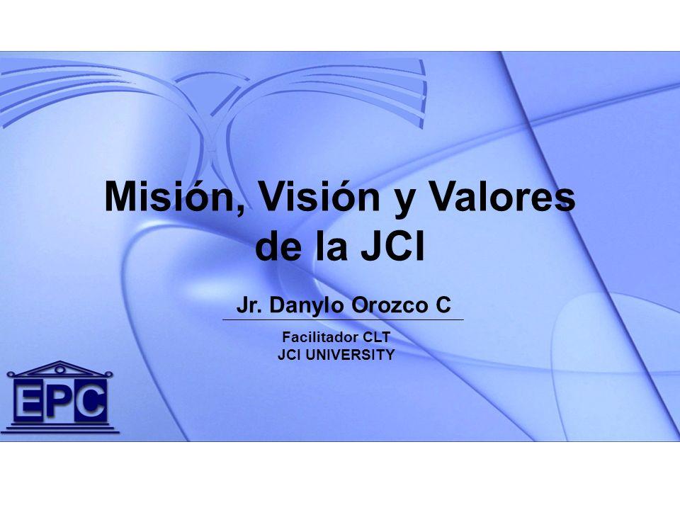 Misión, Visión y Valores de la JCI