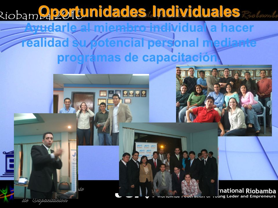 Oportunidades Individuales