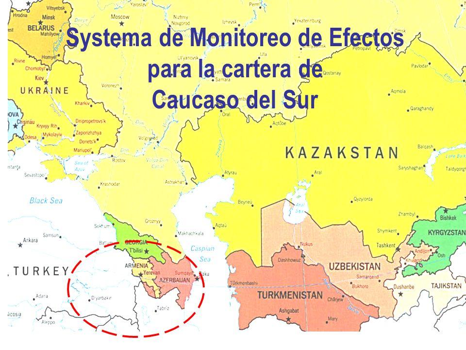 Systema de Monitoreo de Efectos para la cartera de Caucaso del Sur