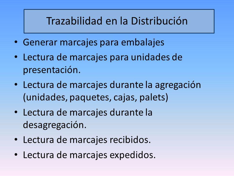 Trazabilidad en la Distribución
