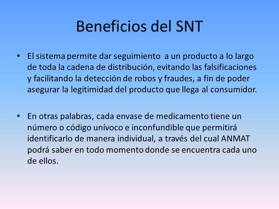 Beneficios del SNT