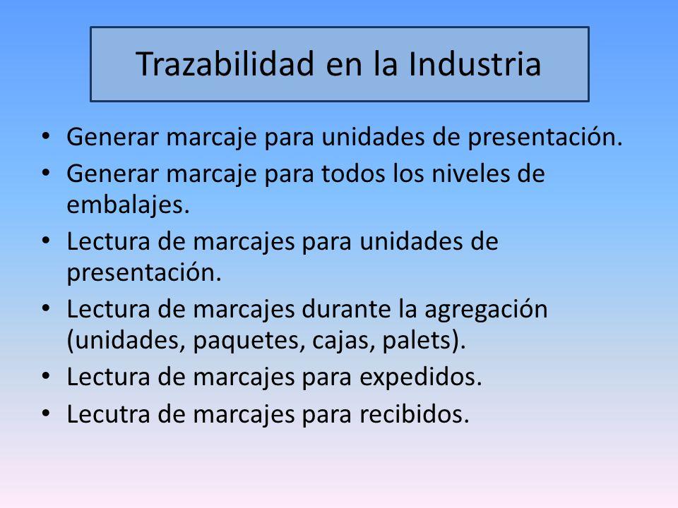 Trazabilidad en la Industria