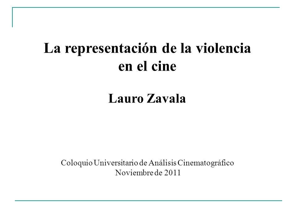 La representación de la violencia