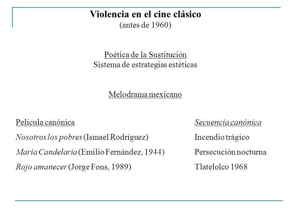 Violencia en el cine clásico