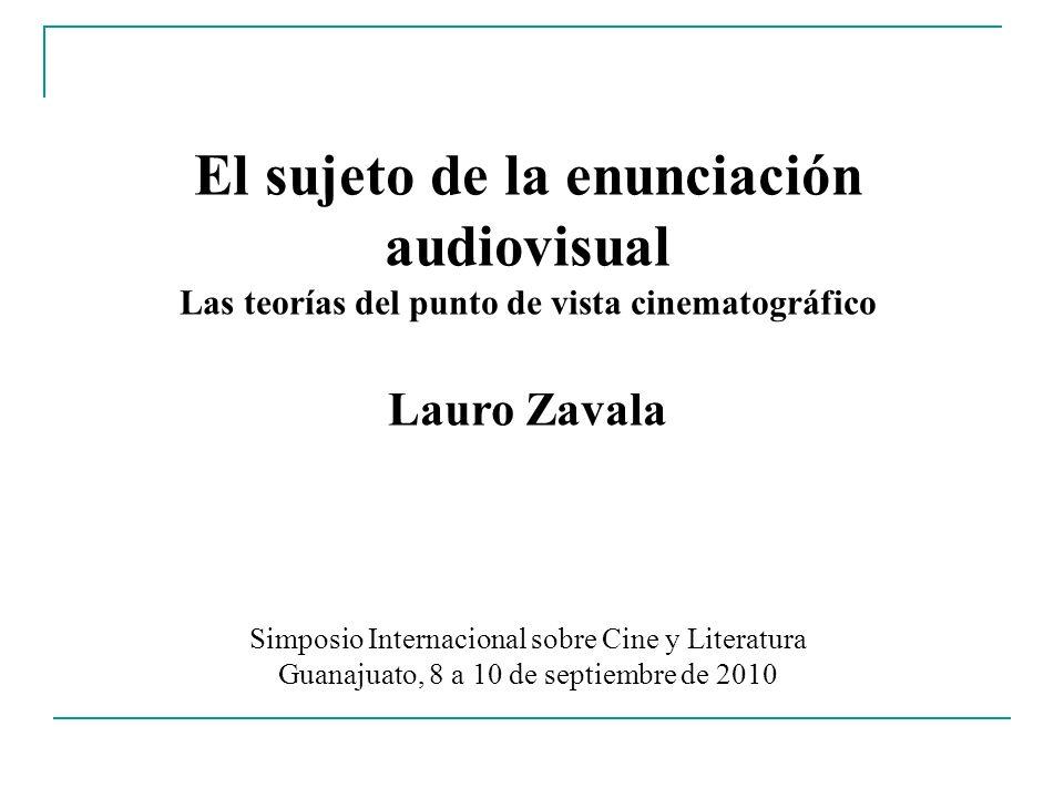 El sujeto de la enunciación audiovisual