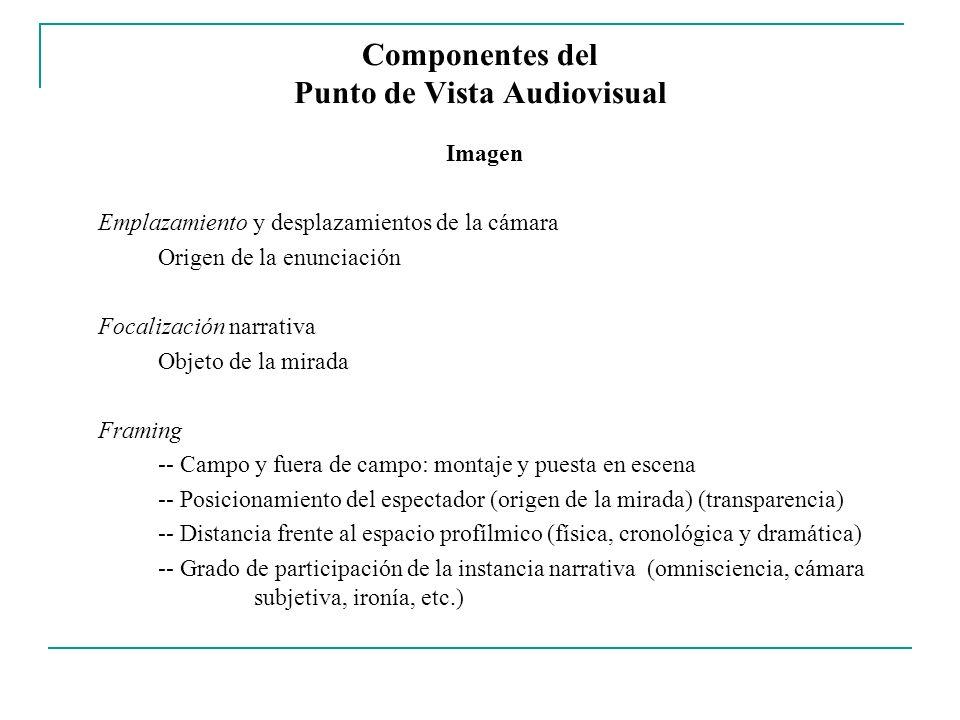 Componentes del Punto de Vista Audiovisual