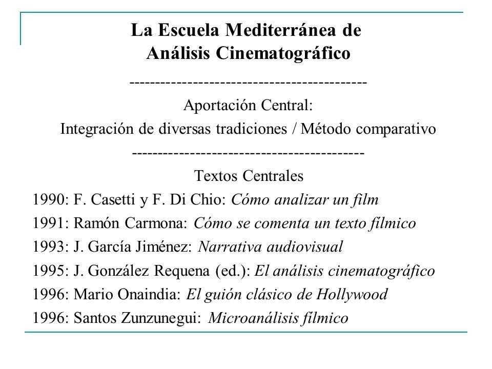 La Escuela Mediterránea de Análisis Cinematográfico