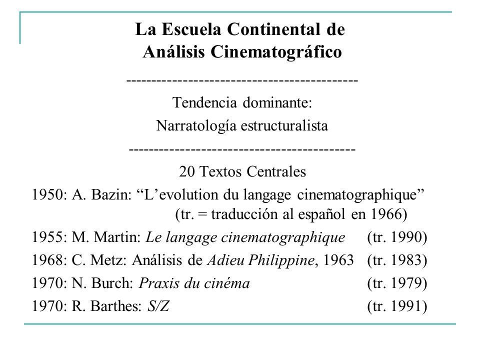 La Escuela Continental de Análisis Cinematográfico