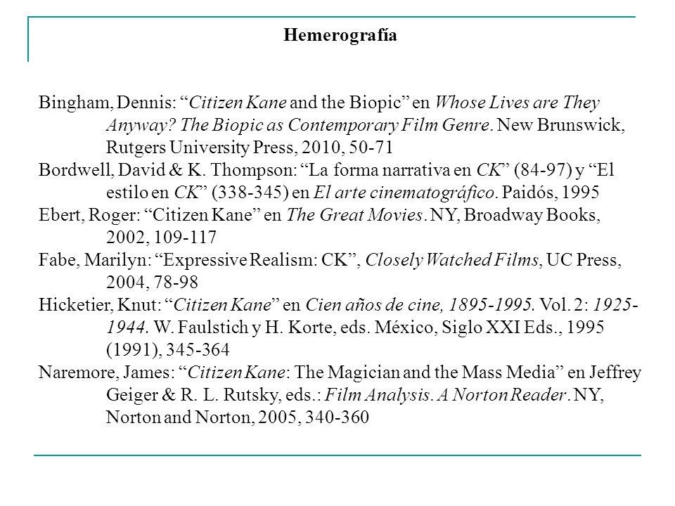 Hemerografía