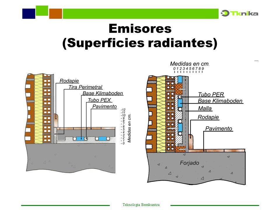Emisores (Superficies radiantes)