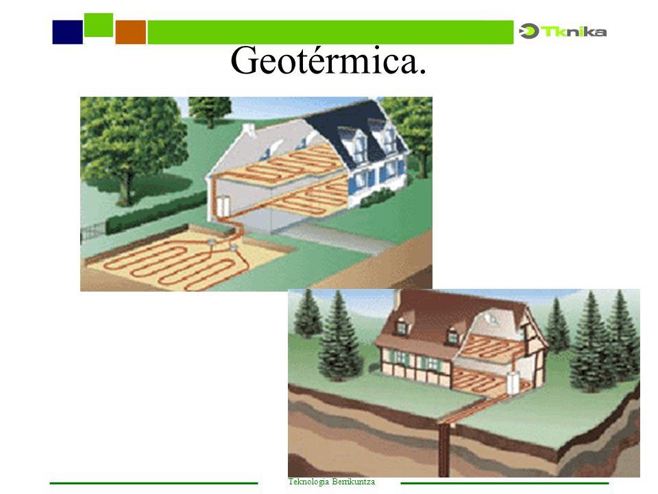 Geotérmica.