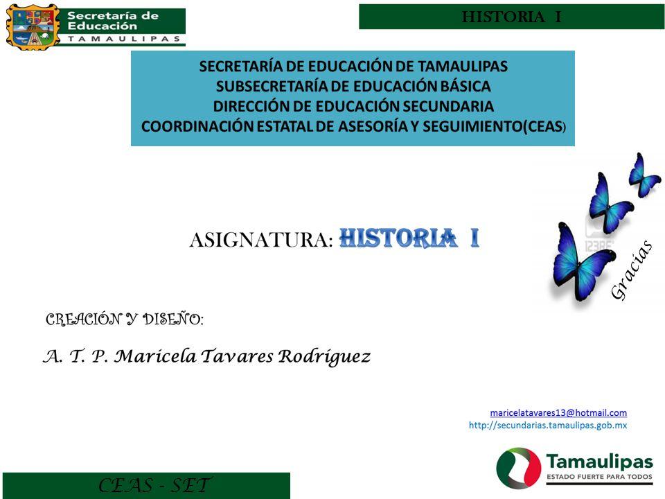 HISTORIA I Gracias CEAS - SET