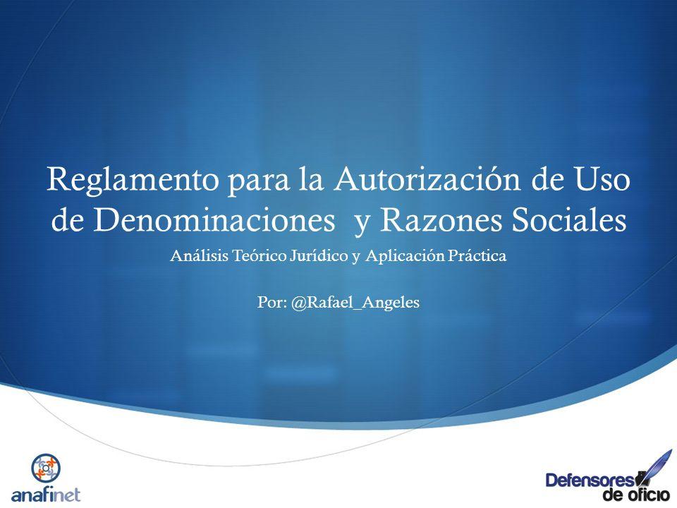 Análisis Teórico Jurídico y Aplicación Práctica Por: @Rafael_Angeles