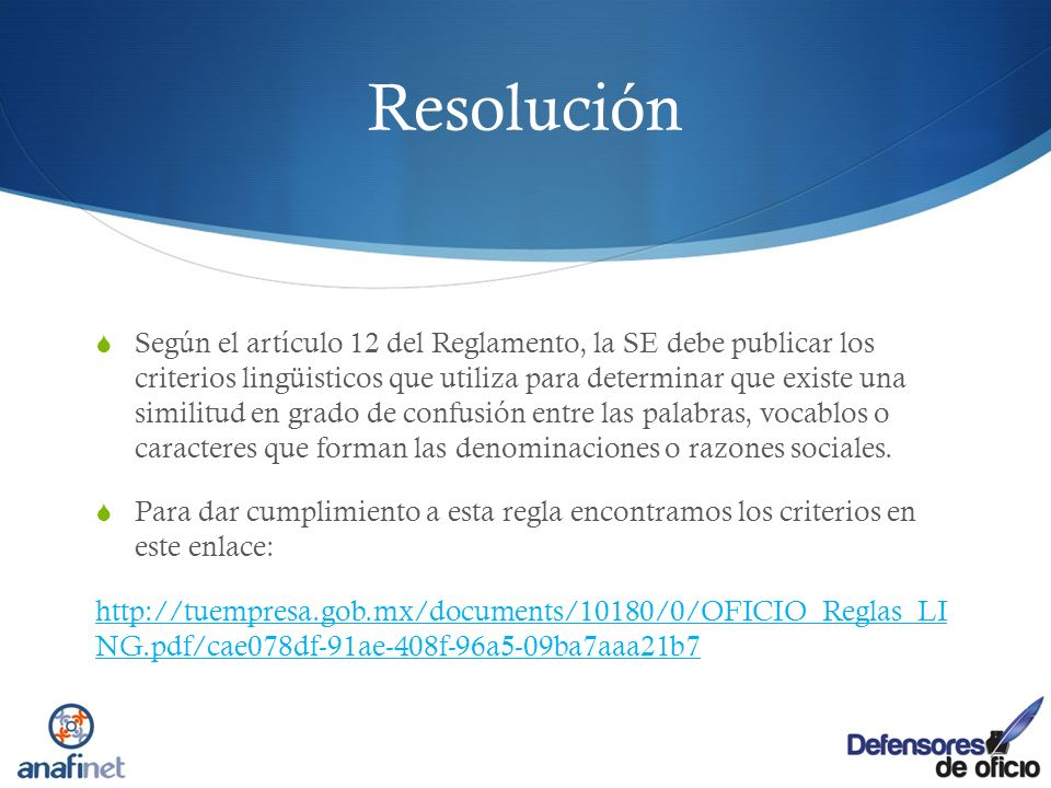Resolución