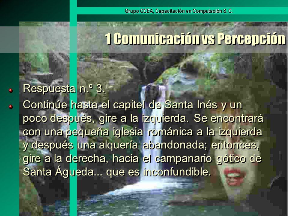 1 Comunicación vs Percepción