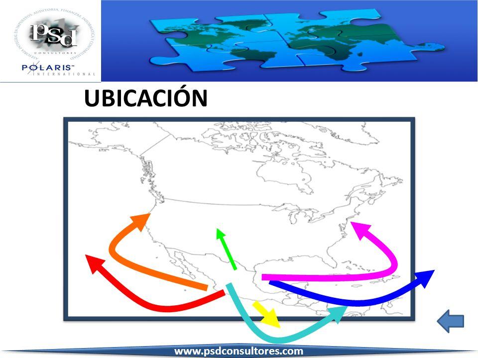 UBICACIÓN www.psdconsultores.com