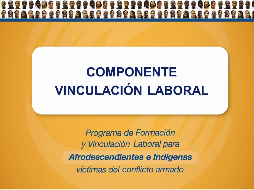 COMPONENTE VINCULACIÓN LABORAL