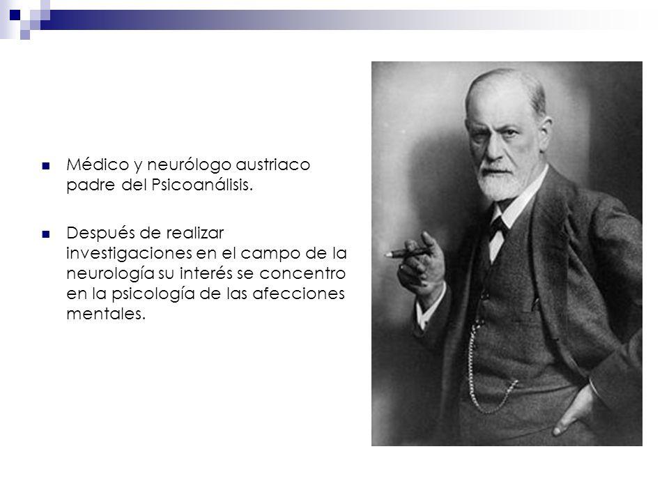 Médico y neurólogo austriaco padre del Psicoanálisis.