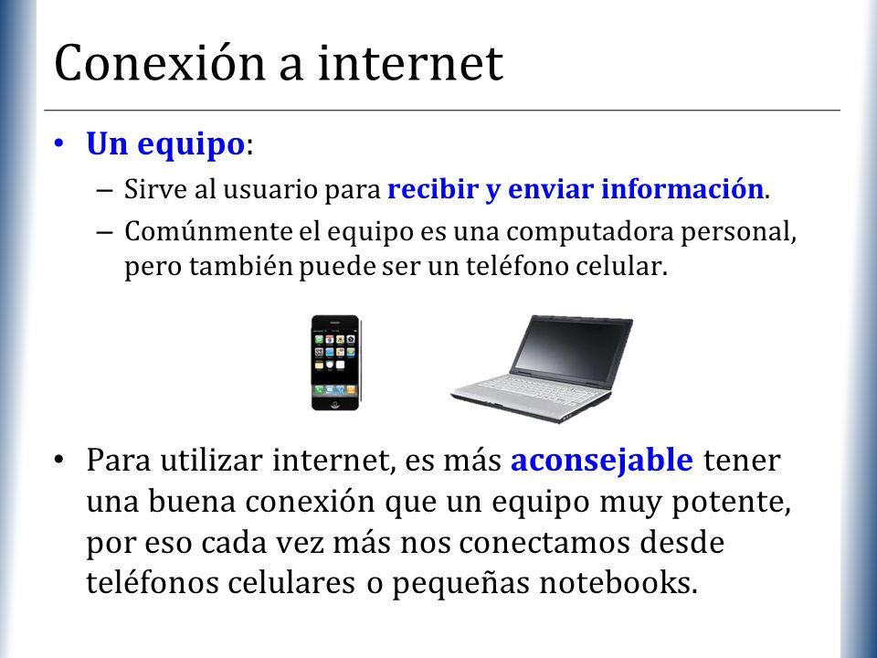 Conexión a internet Un equipo: