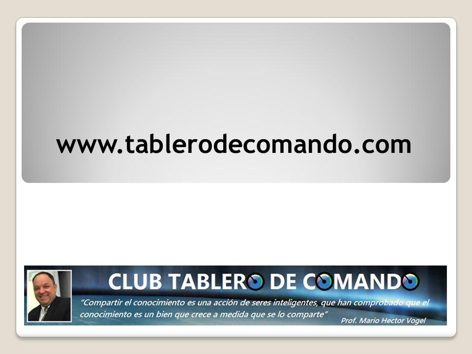 www.tablerodecomando.com