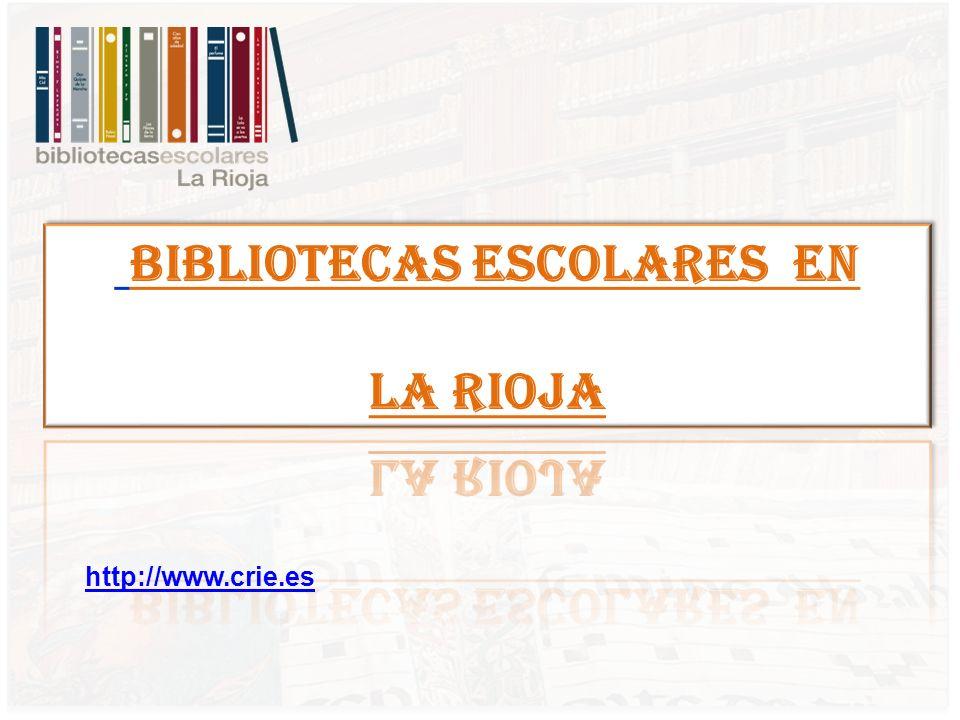 BIBLIOTECAS ESCOLARES EN