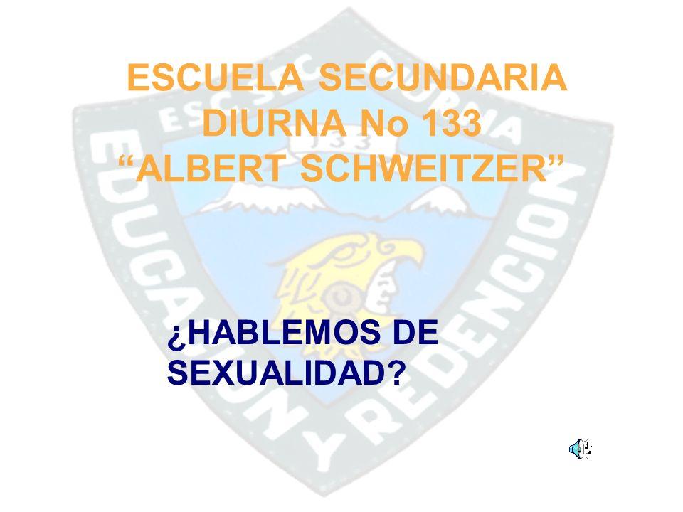 ESCUELA SECUNDARIA DIURNA No 133 ALBERT SCHWEITZER