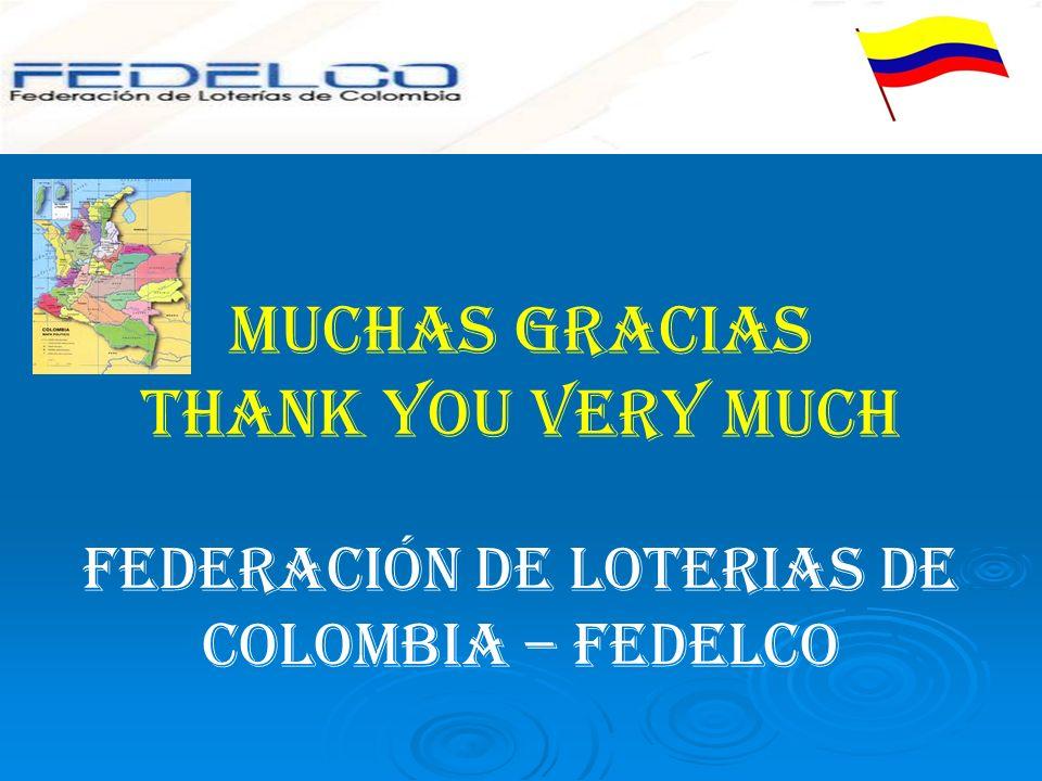 FEDERACIÓN DE LOTERIAS DE COLOMBIA – FEDELCO