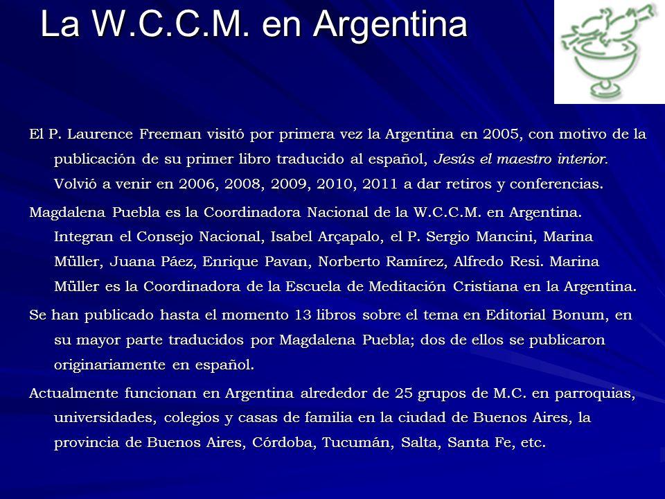La W.C.C.M. en Argentina