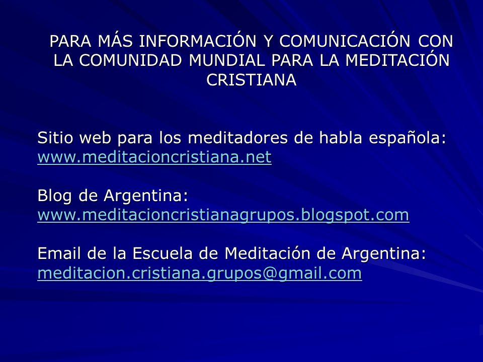 PARA MÁS INFORMACIÓN Y COMUNICACIÓN CON