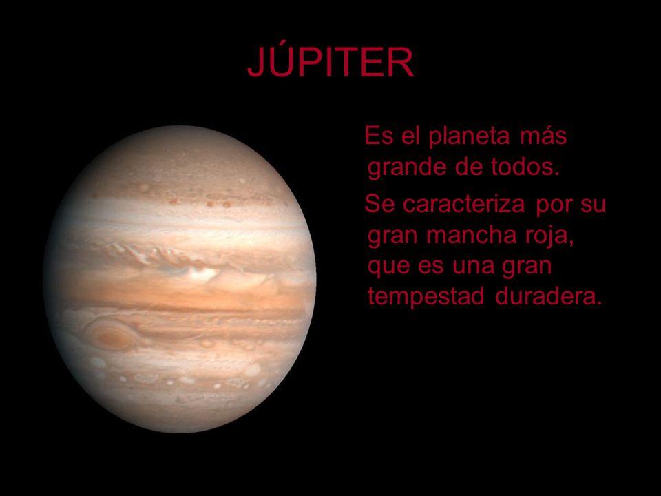 JÚPITER Es el planeta más grande de todos.
