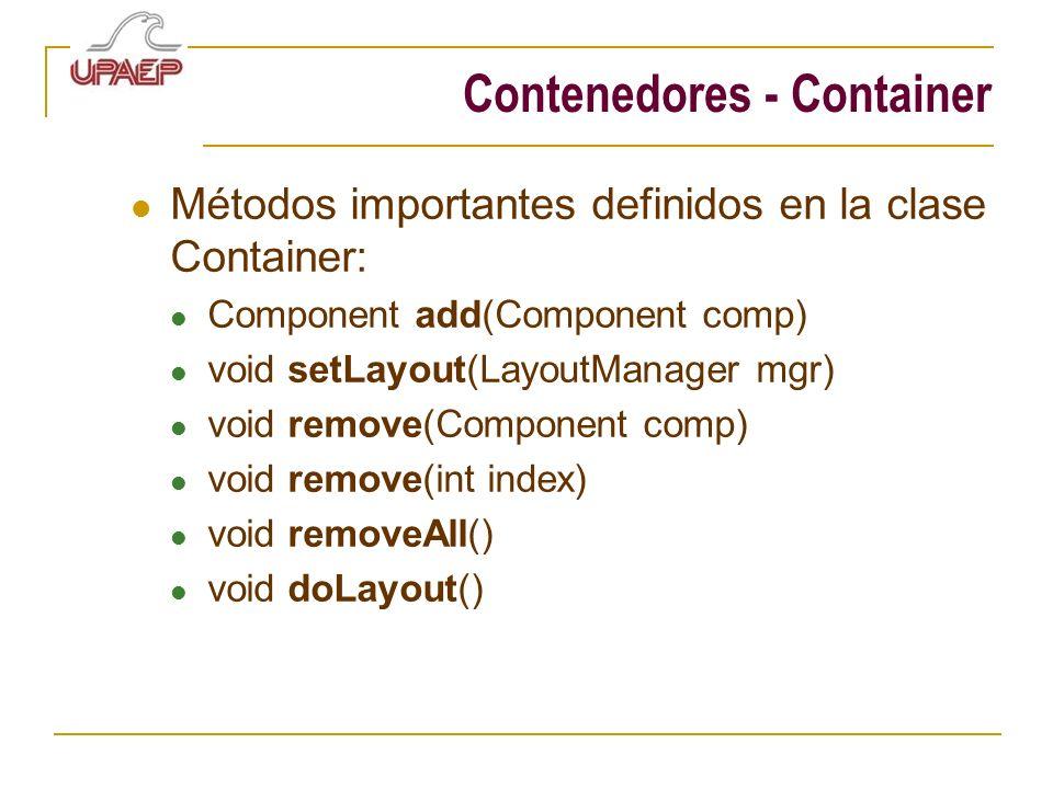 Contenedores - Container