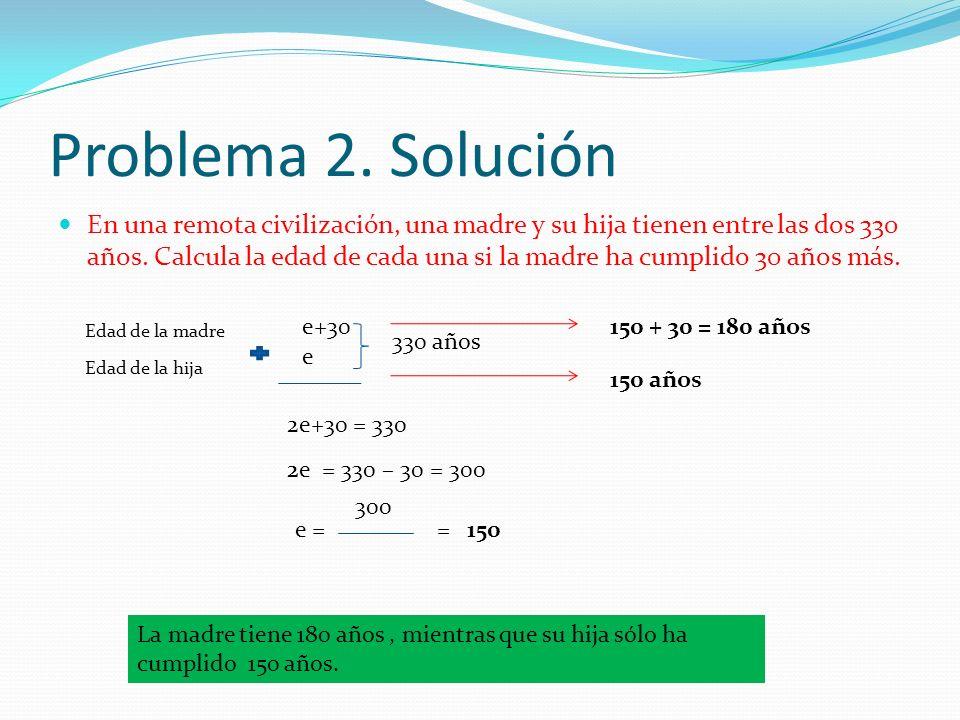 Problema 2. Solución