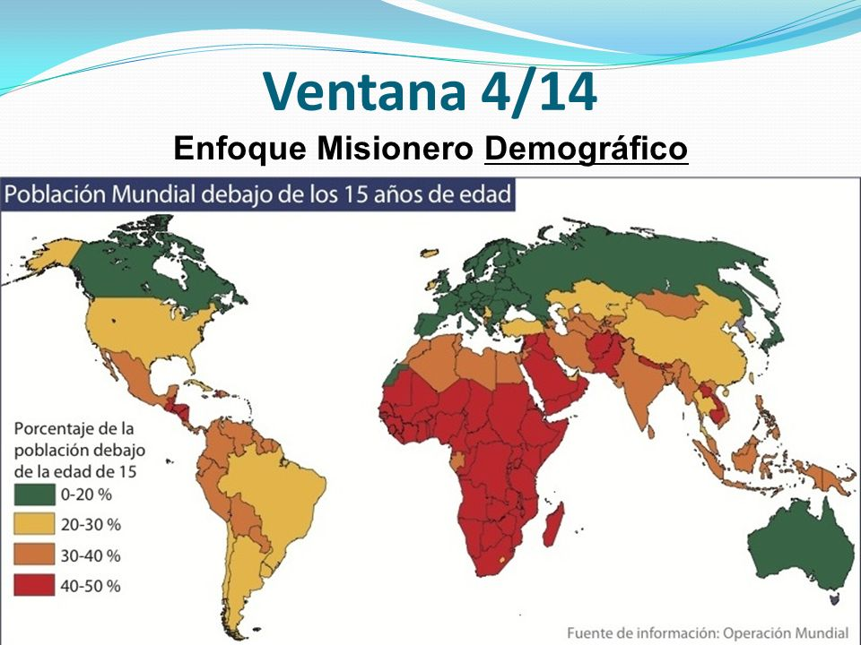 Enfoque Misionero Demográfico
