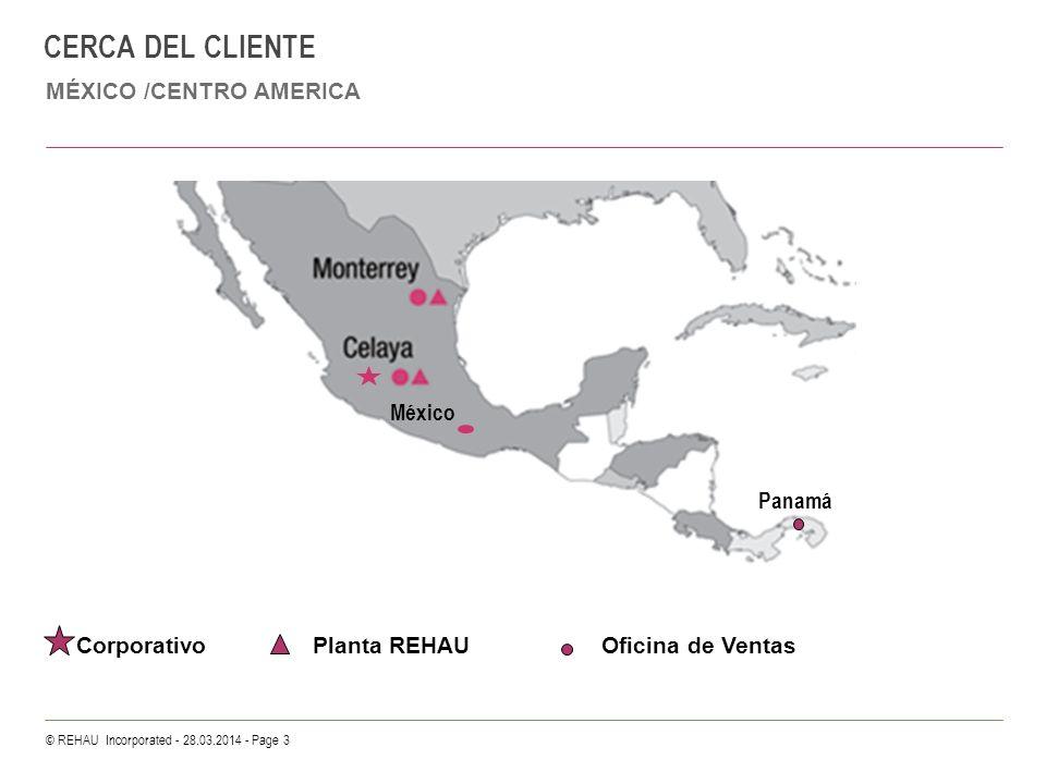 CERCA DEL CLIENTE MÉXICO /CENTRO AMERICA México Panamá