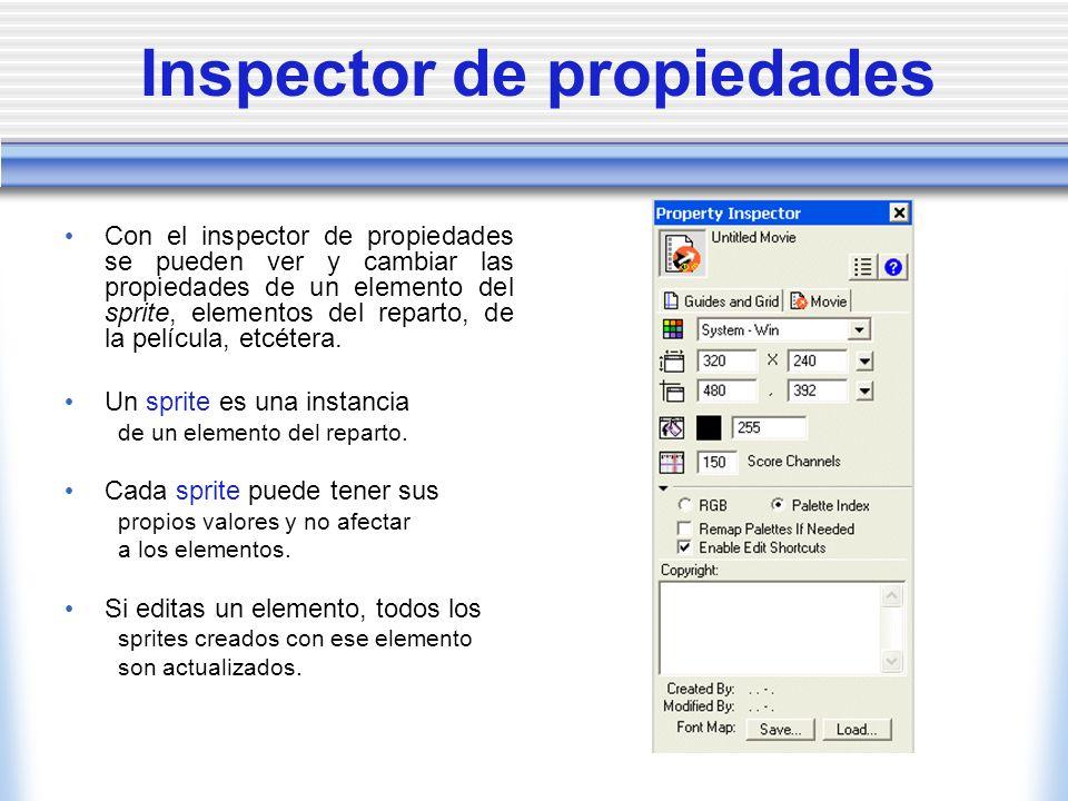 Inspector de propiedades