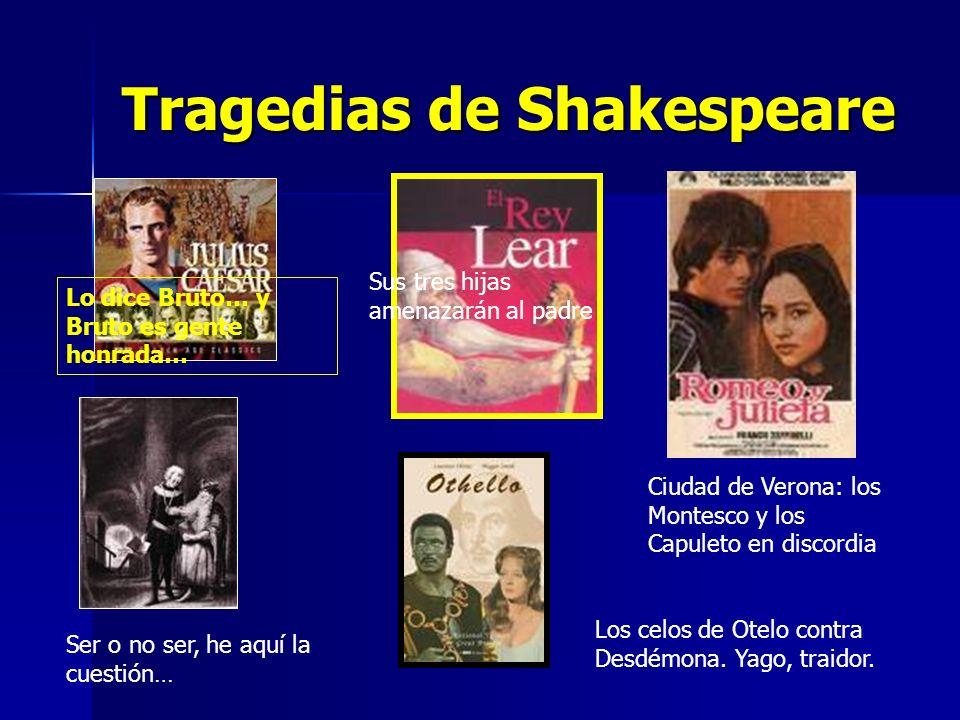 Tragedias de Shakespeare