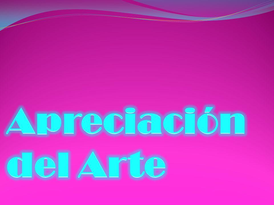 Apreciación del Arte .