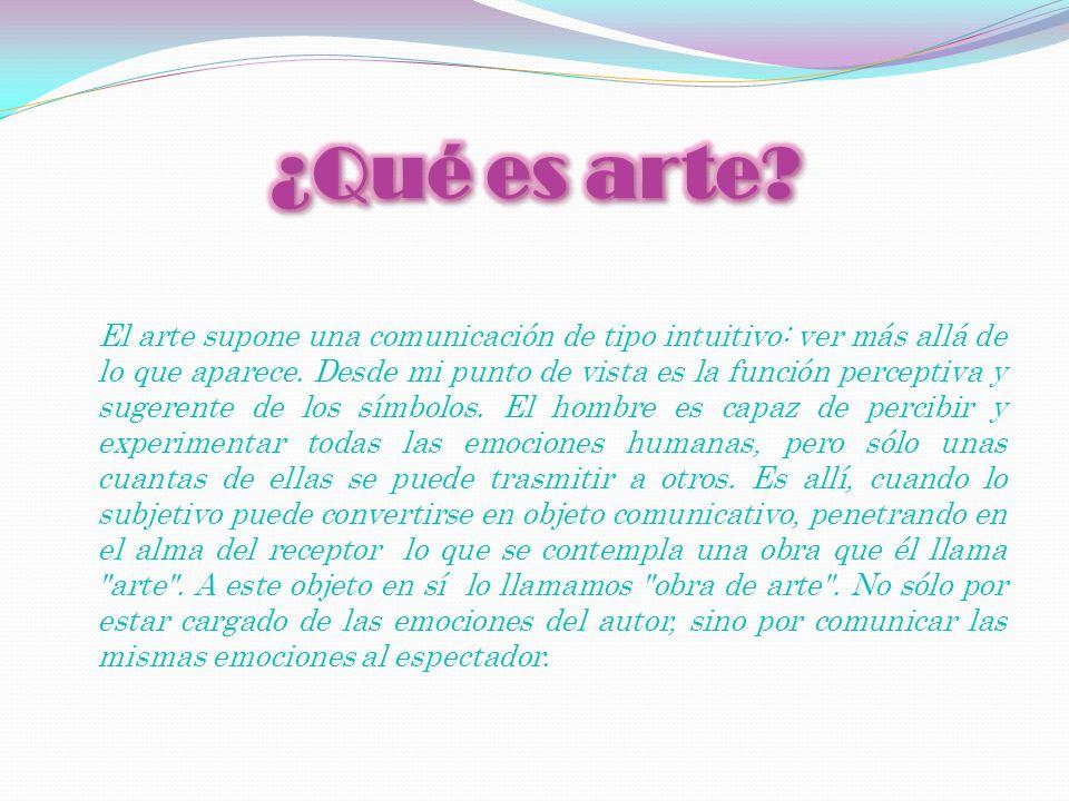 ¿Qué es arte