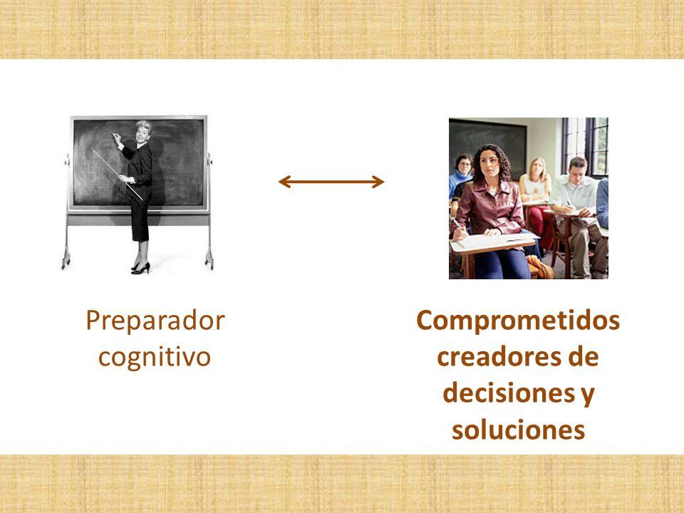 Comprometidos creadores de decisiones y soluciones