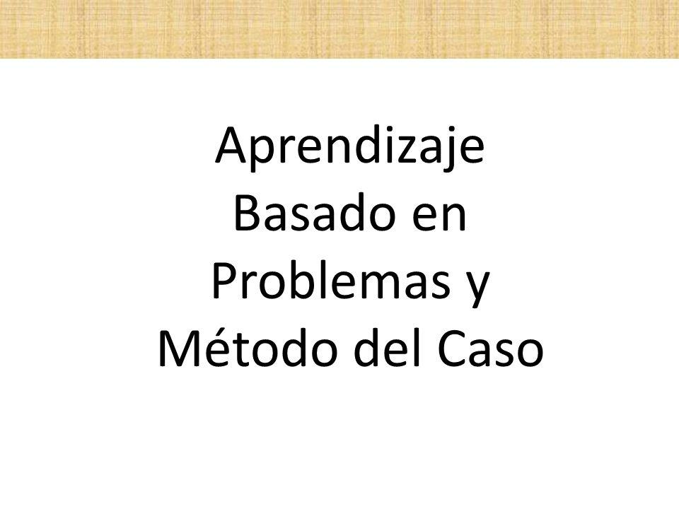 Aprendizaje Basado en Problemas y