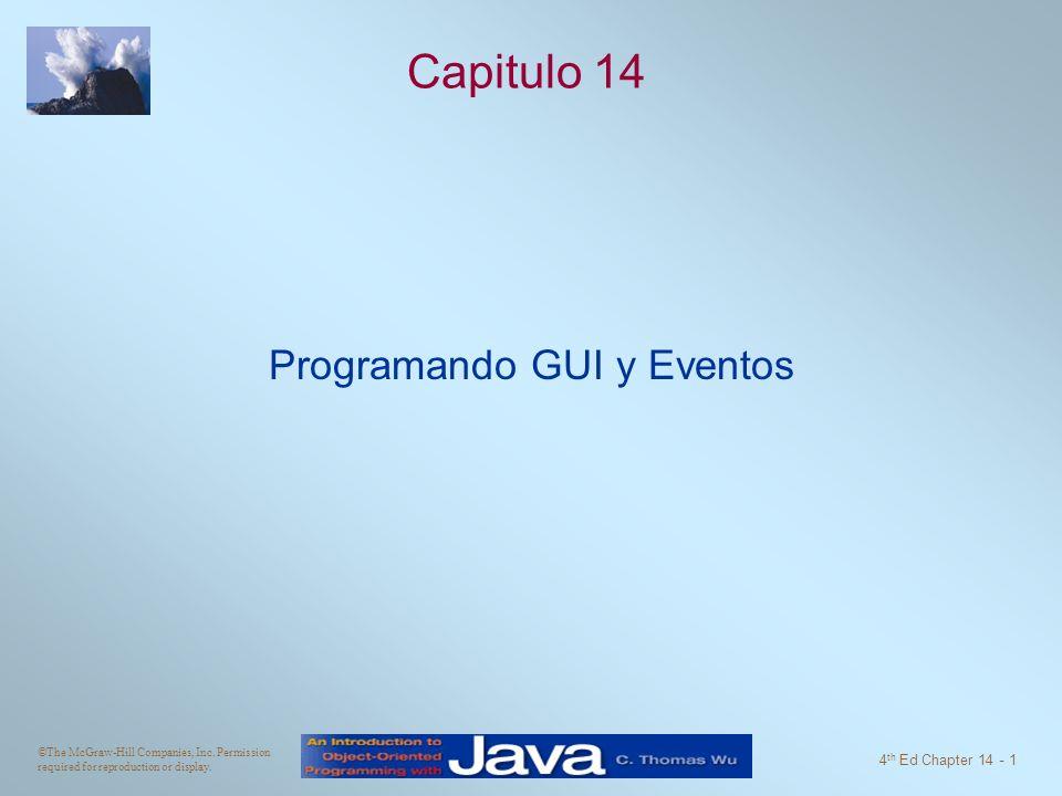 Programando GUI y Eventos