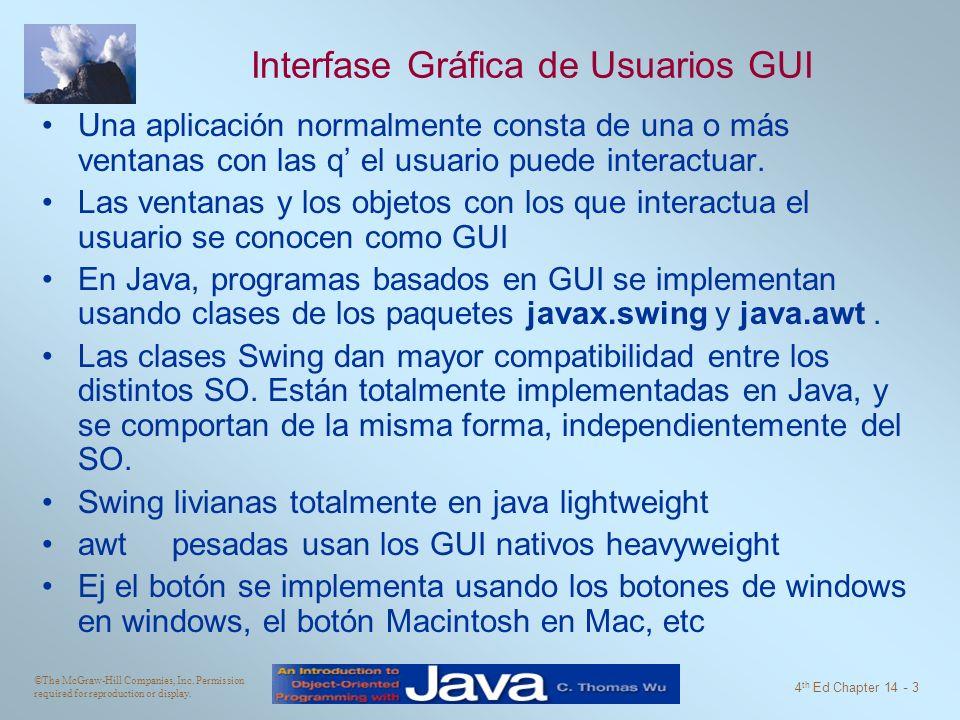 Interfase Gráfica de Usuarios GUI