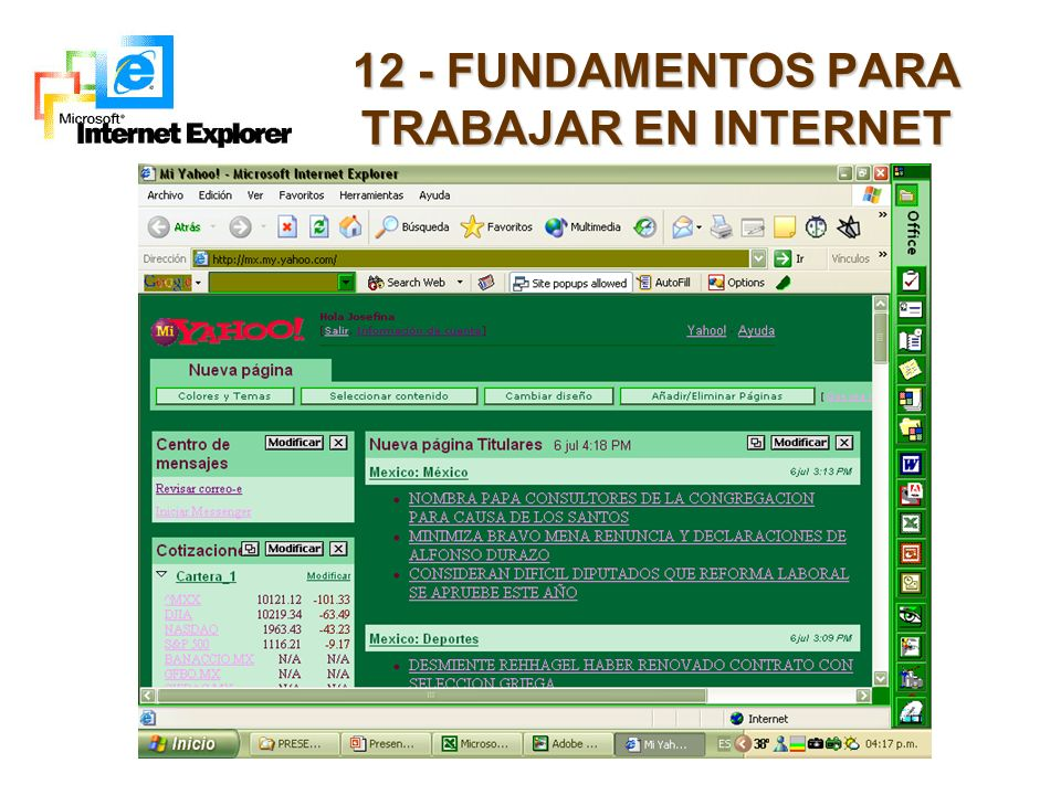 12 - FUNDAMENTOS PARA TRABAJAR EN INTERNET
