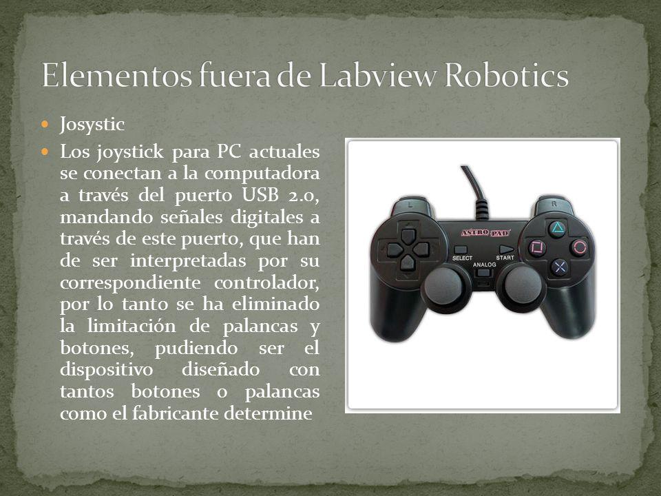 Elementos fuera de Labview Robotics